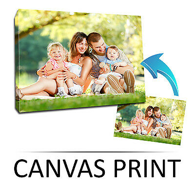 "Custom Square 16x16"" CANVAS Print, Your PHOTO/PICTURE Frame Personalised Box"