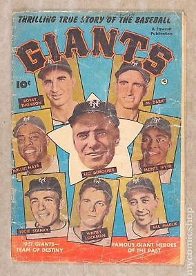 Thrilling True Story of the Baseball Giants #1 1952 FR 1.0