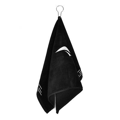 Outdoor Golf Playing Convenient to use Cotton One Towel Black Free Size