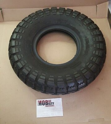 Mobility Scooter Tyre 4.00 - 6 Black