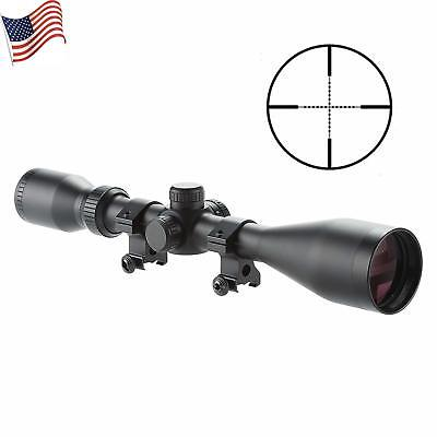 Pro 2.5-10X44 Mil-dot Tactical Rifle Scope Optics Waterproof/Fog Proof For Hunt