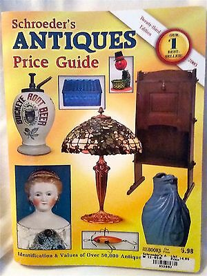 Over 50000 Antiques from A-Z-Schroeder's Antiques Price Guide-2005 VTG Reference