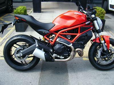 Ducati 797 Monster- Restrictable For A2 License
