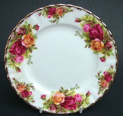 Royal Albert Old Country Roses 1st Quality Side or Bread Size Plates 16cm in VGC
