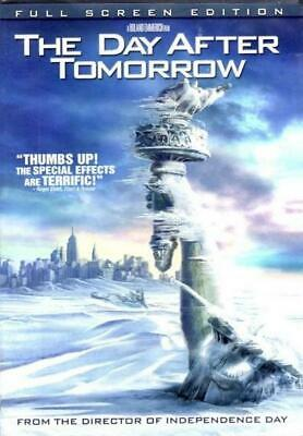 The Day After Tomorrow (DVD, 2004 Full Screen) NEW