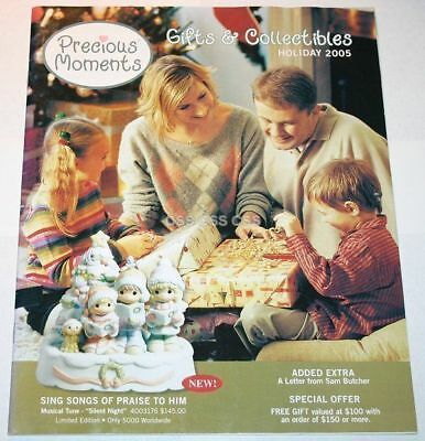 Precious Moments Catalog Christmas Holiday 2005 Dolls Figurines Collectors Guide