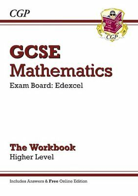 GCSE Maths Edexcel Workbook with answers and online edition - Higher (A*-G Res,