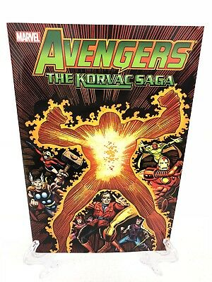 Avengers The Korvac Saga Collects #170-177 Marvel Comics TPB Trade Paperback New