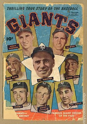 Thrilling True Story of the Baseball Giants #1 1952 PR 0.5