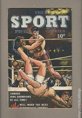 True Sport Picture Stories Vol. 2 #8 1944 GD/VG 3.0