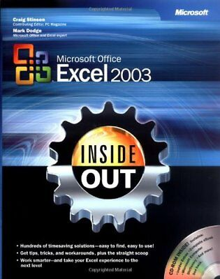 Microsoft® Office Excel 2003 Inside Out (Inside Out (Microsoft)),Craig Stinson,