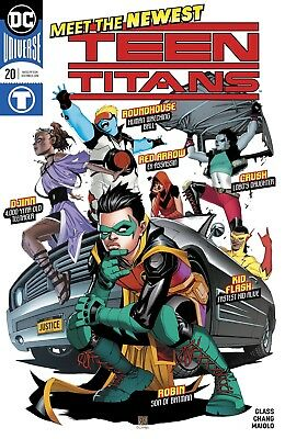 Teen Titans #20 Dc Comics Near Mint 7/25/18