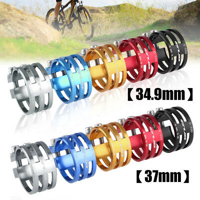 31.8mm/34.9mm/37mm CNC Aluminum Alloy Bicycle Seatpost Clamp Bike Seat Tube Clip