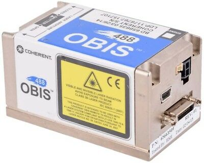 Coherent OBIS 488-20 LS 488nm 20mW CW Continuous Wave Solid-State Laser 1178767