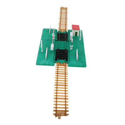 model train track construction scene Sand table railway plastic rail DIY toy
