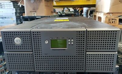 Dell PowerVault TL4000 Tape Library NO TAPE DRIVES