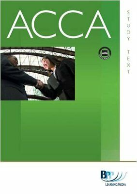 ACCA - P1 Professional Accountant: Study Text,BPP Learning Med ,.9780751763744
