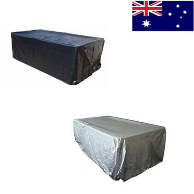 7/8/9FT Outdoor Pool Snooker Billiard Table Cover Polyester Waterproof Fabric AU