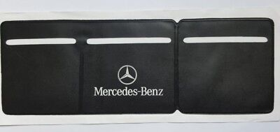 Car Van Road Tax, Insurance, NCT Disc Holder Black  Wallet Permit For Mercedes