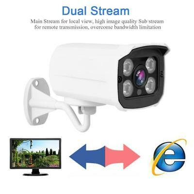 HD 720P WIFI Wireless IP Outdoor Security Bullet Camera IR Night Vision Onvif