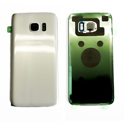 Backcover SAMSUNG Galaxy S7 EDGE G935F Backcover Akkudeckel Rückseite Weiss
