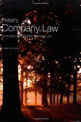 Pettet's Company Law: Company and Capital Markets Law (Longman Law Series),John