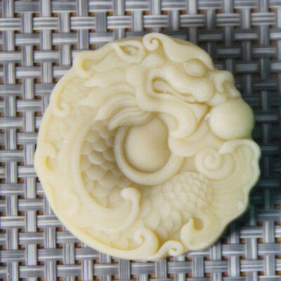 Silicon Soap Mold Dragon DIY Craft Handmade Soap Mould Candle Mould