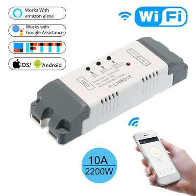 Ewelink Smart Wifi Switch Modulo Universale 2Ch Ac85-250V Interruttore O6F4
