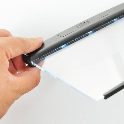 Portable Ultra-thin Flat Reading Light Students Night Vision Book Light Lamp DF
