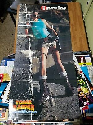 Tomb Raider Video Game Poster from 1999. Oversized!