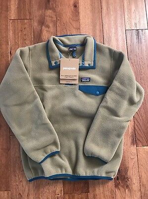 NEW Patagonia Boys Lightwight Synchilla Fleece Pullover  Medium Unisex Youth