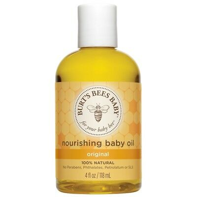 Burt's Bees® BABY NOURISHING OIL Natural Baby Oil Bath or Massage Aromatherapy