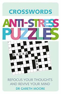Anti-Stress Puzzles: Crosswords,Gareth Moore