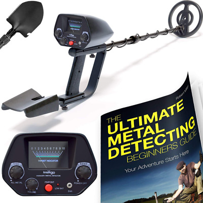 NHI Classic Metal Detector With Pinpointer comfort and convenience NEW US SHIP