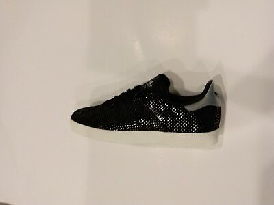 WOMEN'S ADIDAS ORIGINALS Gazelle BY9363 BlackSilver Dots