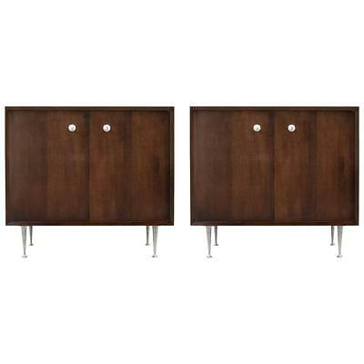 """George Nelson """"Thin Edge"""" Cabinet, Two Available"""