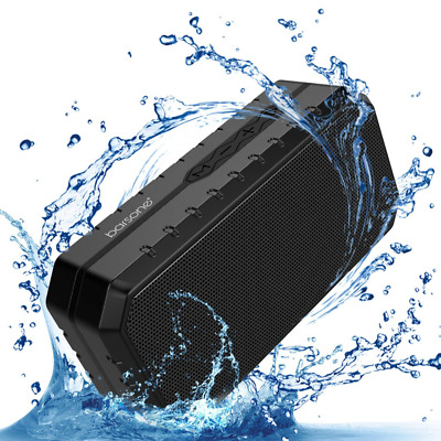 Portable Bluetooth Speaker,IPX5 Built-in Mic Wired &Wireless,TF Card Slot/U Disk