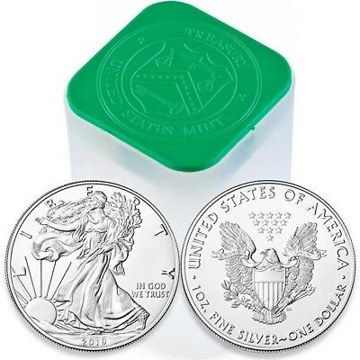 2019 1 Ounce American Silver Eagle Gem B/u $1 Silver Dollar~Invest Today~.999