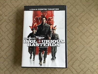 Inglourious Basterds (Single-Disc Edition) [DVD] [2009] WITH BONUS FEATURES F/S