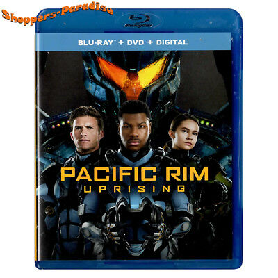 ⭐ PACIFIC RIM: UPRISING ⭐ Movie Blu-Ray Disc & Case (USA Release - 2018)