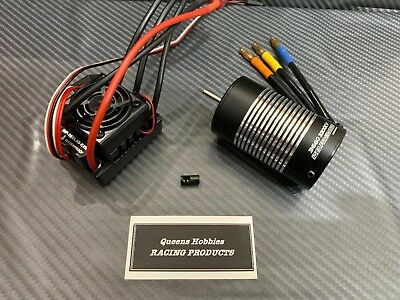 Hobbywing WP-10BL50 3300KV Brushless ESC Motor Combo Fits 1/10 RC Car Truck