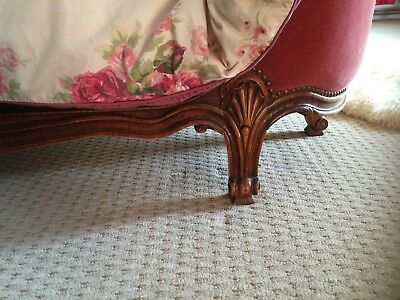 VINTAGE FRENCH KINGSIZE  REVIVAL CORBIELLE BED 5Ft 6""