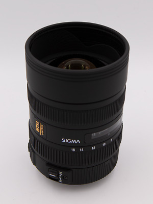 USED Sigma 8-16mm f/4.5-5.6 DC HSM For Canon