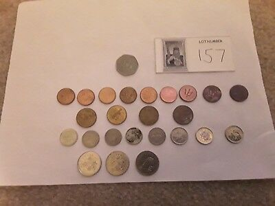 25 Coins From Barbados