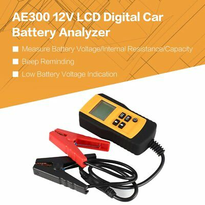 AE300 12V LCD Digital Car Battery Analyzer Automotive Vehicle Battery Tester G2