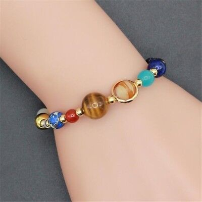 Eight Planets In The Solar System Beads Bracelet Fashion Jewelry Best Gift