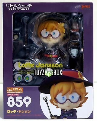 In STOCK Good Smile Little Witch Academia Lotte Jansson Nendoroid Action Figure