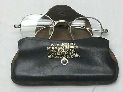 Vintage Child's Eyeglasses Shuron 1/10 12 K Gold Filled