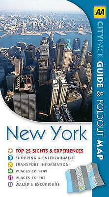AA CityPack New York (AA CityPack Guides) by VARIOUS, Good Book (Paperback) Fast