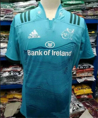 New 2018-19 munster away Rugby Jersey shirt rugby T shirt tee SIZE:S-3XL